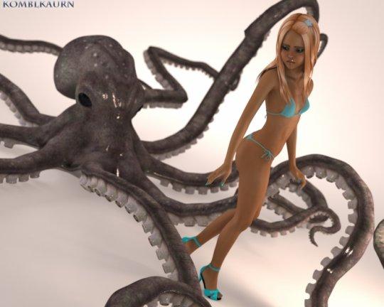 [komblkaurn] Octopus Likes Teen / loli /