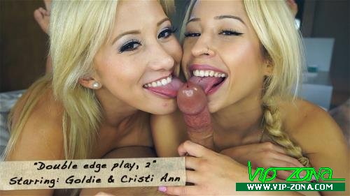 Сristi Ann, Goldie - Double edge play, 2 (2015/Clips4sale.com/FullHD)