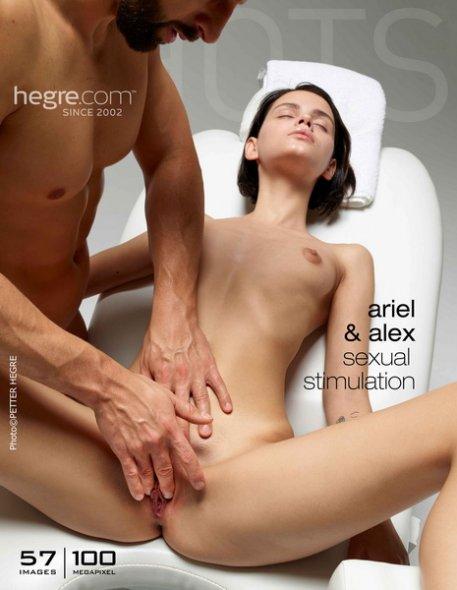 Ariel and Alex Sexual Stimulation